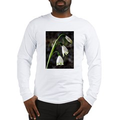 Floral Lanterns Long Sleeve T-Shirt
