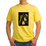 Floral Lanterns Yellow T-Shirt