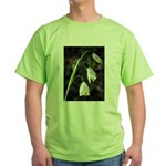 Floral Lanterns Green T-Shirt