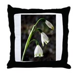 Floral Lanterns Throw Pillow
