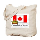 Canadian Princess Tote Bag