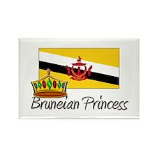 Bruneian Princess Rectangle Magnet