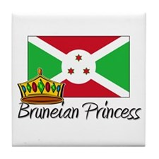 Bruneian Princess Tile Coaster