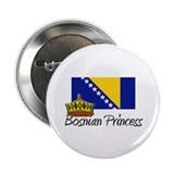 "Bosnian Princess 2.25"" Button"