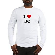I Love JC Long Sleeve T-Shirt