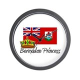 Bermudan Princess Wall Clock