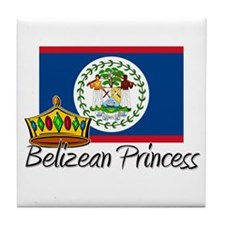 Belizean Princess Tile Coaster