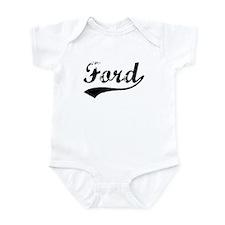 Vintage Ford (Black) Infant Bodysuit