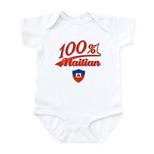 100% Haitian Infant Bodysuit