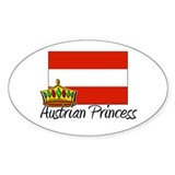 Austrian Princess Oval Decal