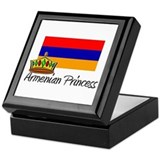 Armenian Princess Keepsake Box