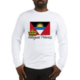 Antiguan Princess Long Sleeve T-Shirt