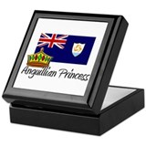 Anguillian Princess Keepsake Box