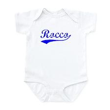 Vintage Rocco (Blue) Infant Bodysuit