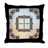 Celtic Dragonflys Throw Pillow