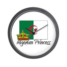 Algerian Princess Wall Clock