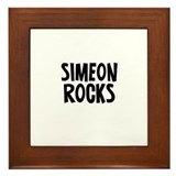 Simeon Rocks Framed Tile