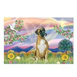 Cloud Angel & Boxer Postcards (Package of 8)
