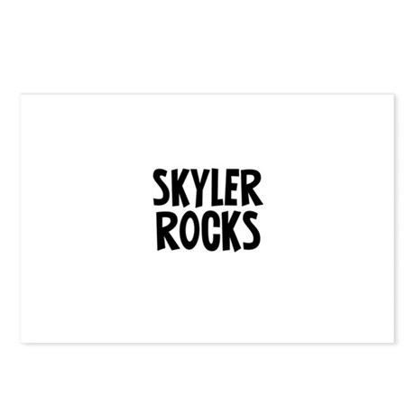 Skyler Rocks Postcards (Package of 8)