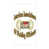 American Assn Wedding Officiants Sticker (Rectangu