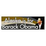 Alaska is for Barack Obama bumper sticker