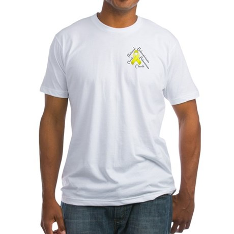 Pocket Endometriosis Month Fitted T-Shirt