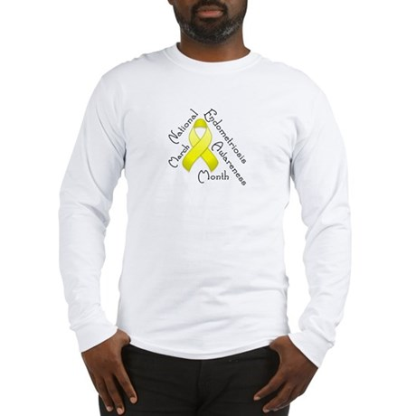 Endometriosis Month Long Sleeve T-Shirt