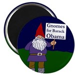 Gnomes for Barack Obama Magnet