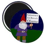Gnomes for Barack Obama Magnet