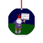 Gnomes for Obama Xmas Ornament