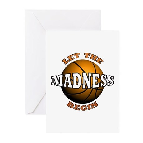 Madness Begins - Greeting Cards (Pk of 10)
