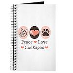 Peace Love Cockapoo Journal