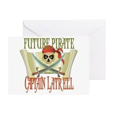 Captain Latrell Greeting Card