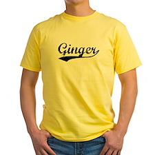 Vintage Ginger (Black) T