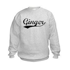 Vintage Ginger (Black) Sweatshirt
