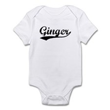 Vintage Ginger (Black) Infant Bodysuit