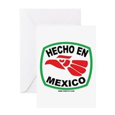 HECHO EN MEXICO Greeting Card