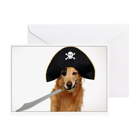 SNAPshotz Golden Pirate Birthday Card