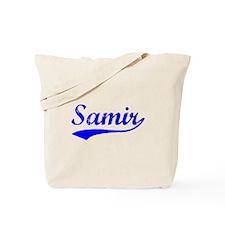 Vintage Samir (Blue) Tote Bag