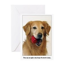 SNAPshotz Golden Apple a Day Greeting Card