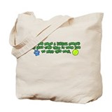 Less Time Flyball Tote Bag