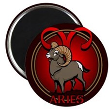 Aries Ram Fridge Magnet Astrology Aries Magnet