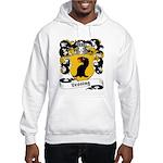 Lessing Family Crest Hooded Sweatshirt