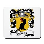 Lessing Family Crest Mousepad