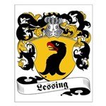 Lessing Family Crest Small Poster