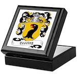 Lessing Family Crest Keepsake Box