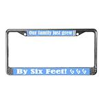 Triplets License Plate Frame