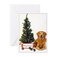 SNAPshotz Golden Retriever Christmas Card