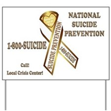 Suicide Awareness Yard Sign