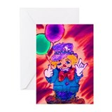 Funny Sign language interpreter Greeting Cards (Pk of 20)